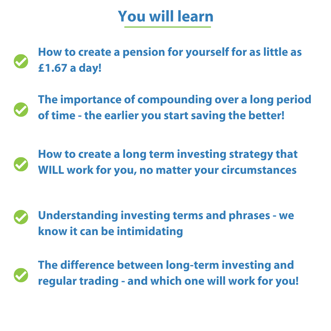 What you will learn on pension course